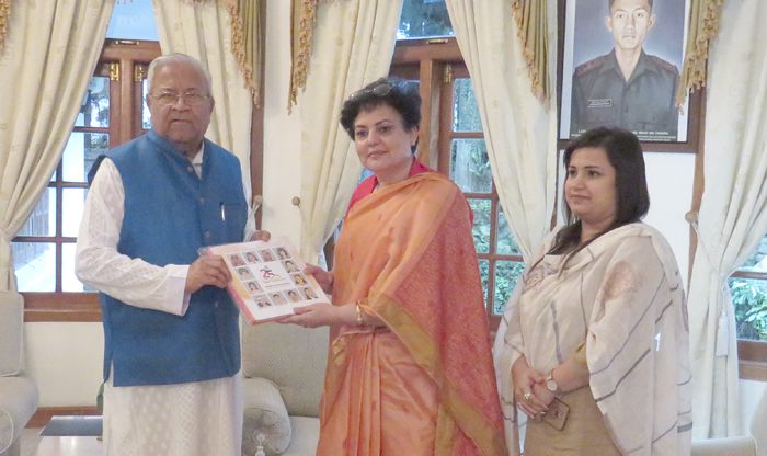 NCW Chief  meets Nagaland Guv
