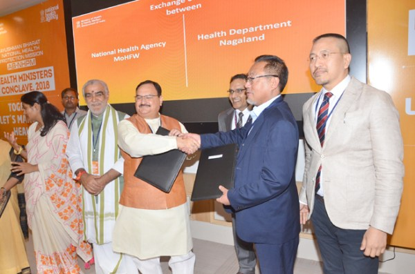Pangnyu signs MoU to  implement AB-NHPM in state