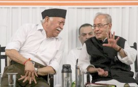 Attempt to define India through religion, intolerance will  dilute its existence: Pranab Mukherjee at RSS event