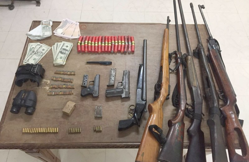 AR seizes large amount of illegal arms, foreign currency