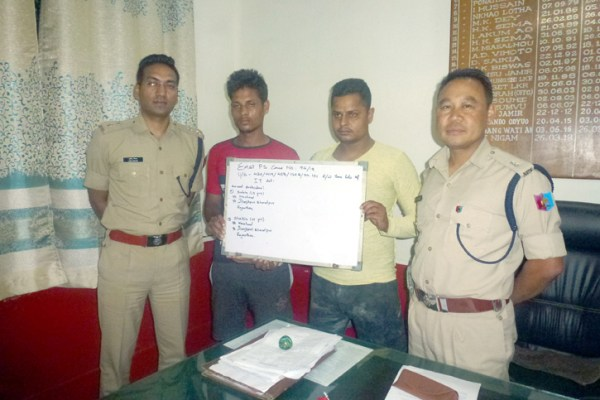 2 online fraudsters nabbed for duping Naga woman