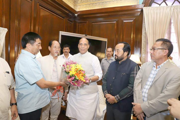 CM meets Union Home Minister