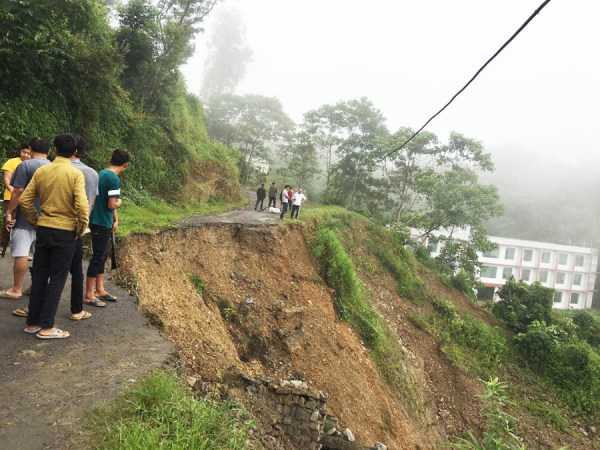 At least 7 drown; properties worth crores &  arterial roads damaged in Nagaland