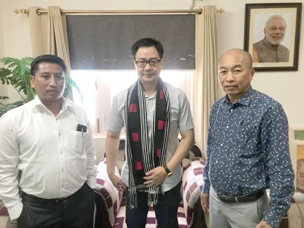 State advisors meet Rijiju