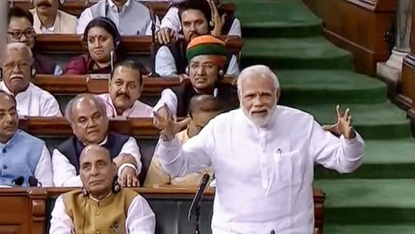 Modi govt defeats no-confidence  motion, gets more than two-third votes