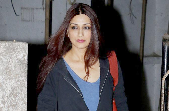 Sonali Bendre diagnosed with cancer, shares emotional message