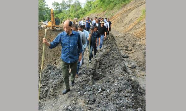 CM visits landslide areas