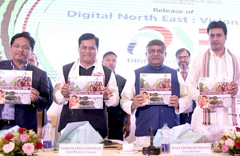 Govt announces mega Rs 10,000 cr booster for digital services across NE