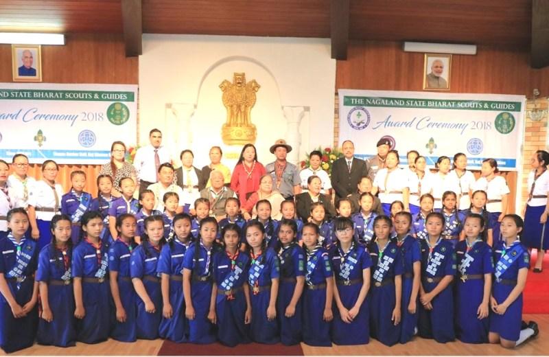 Rajya Puraskar awarded to scouts & guides