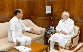 Rio briefs PM on State issues