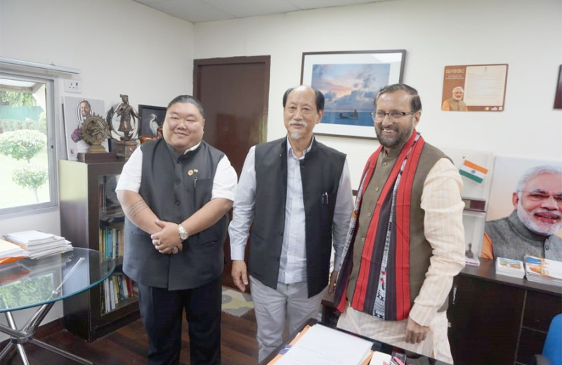 Rio meets Union HRD minister