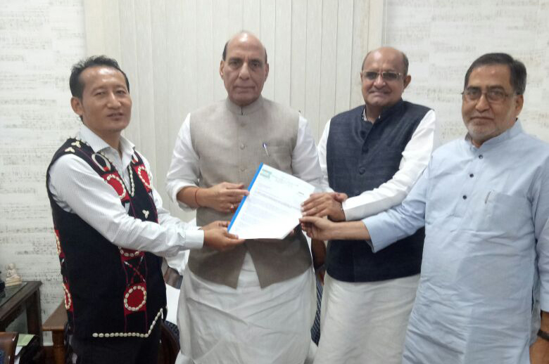 JD (U) appeals to PM to convene spl session on Naga issue