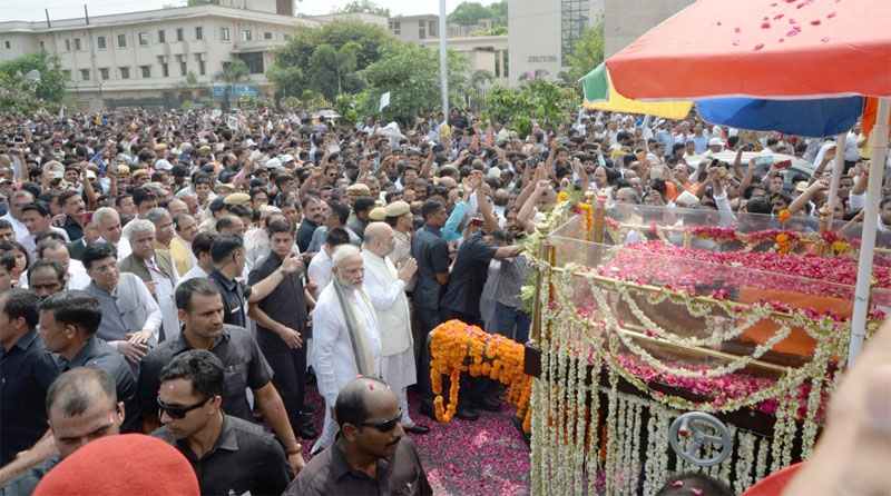 India bids farewell to Bharat Ratna Atal Bihari Vajpayee