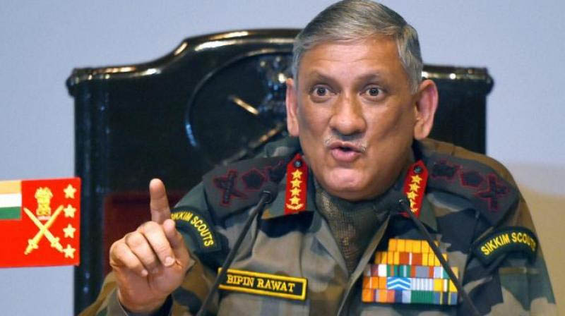 Need to avenge Pak barbarism: Army Chief