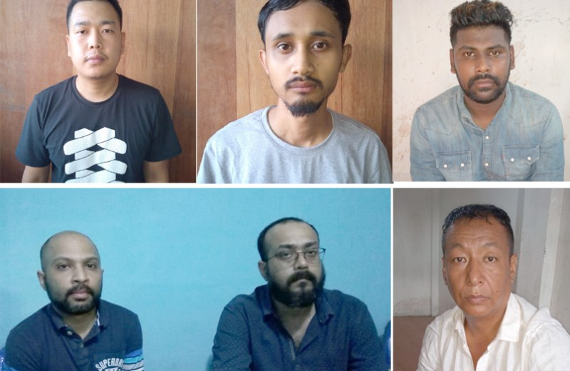 Police busts call centre racket in Dimapur