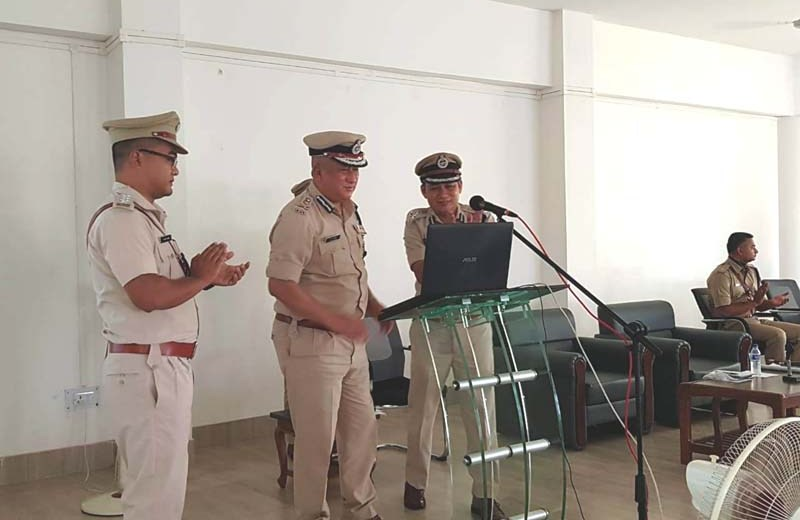 State DGP visits Dimapur Police Commissionerate