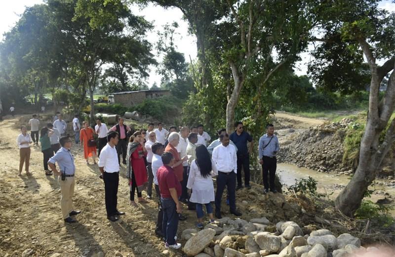 IMCT visits Niuland sub-division