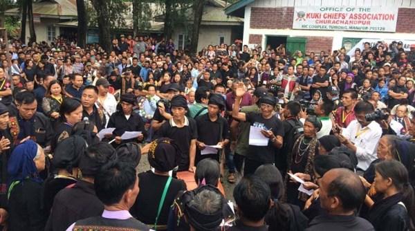 Manipur: Kuki tribe demands justice for  1993 'genocide', observes 'black day'
