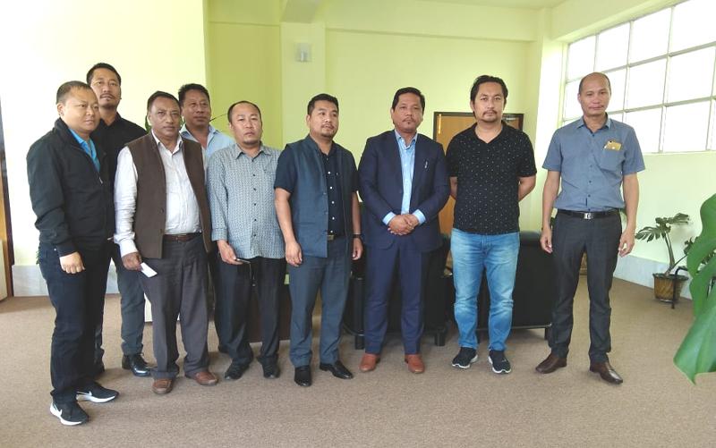 Dinner diplomacy for Nagaland guest house at Shillong