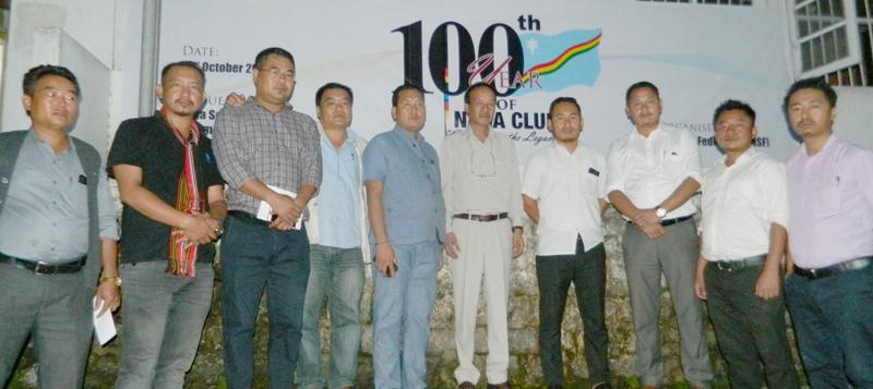 NSF to commemorate 100th year of Naga Club in Kohima
