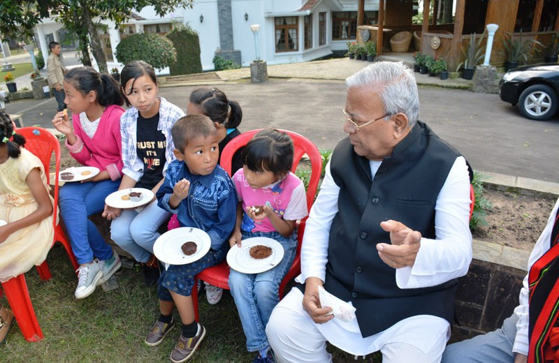 141 children attend Outreach Programme at Raj Bhavan