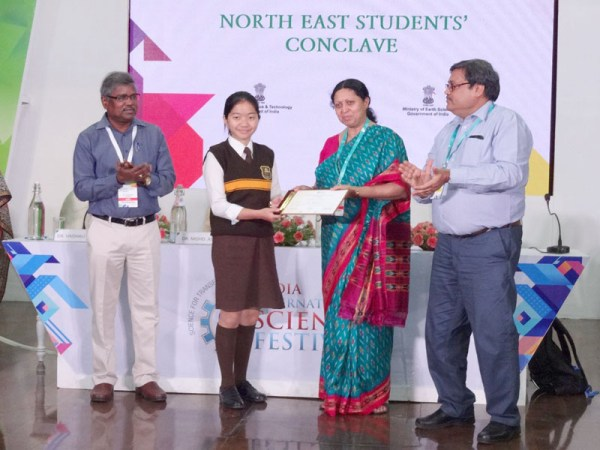 Nagaland school students made State proud at IISF 2018