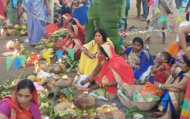 Chhath Puja celebrated in Dimapur