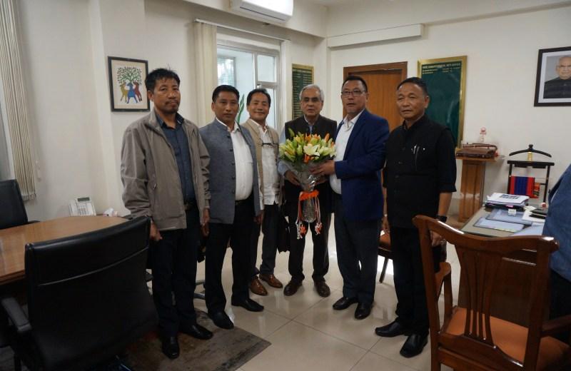 ENLU meets NITI Aayog on development  of Eastern Nagaland