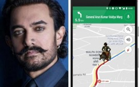 Thugs of Hindostan: Aamir's character to come alive on Google Maps
