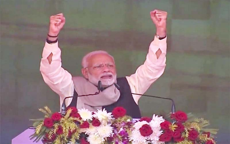 PM Modi tears into Congress, Gandhis  in their bastion Rae Bareli, invokes Quatrocchi 'mama,' Michel 'uncle'