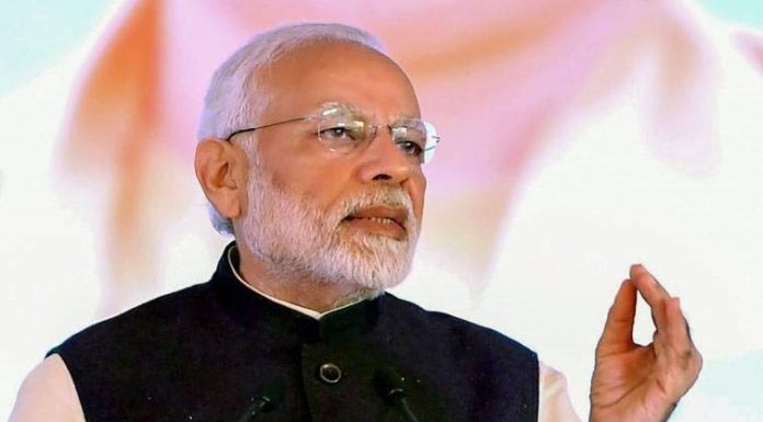 PM Modi talks tough on  terrorism & Pakistan
