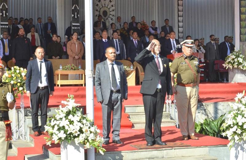 Nagaland celebrates 55 years of Statehood