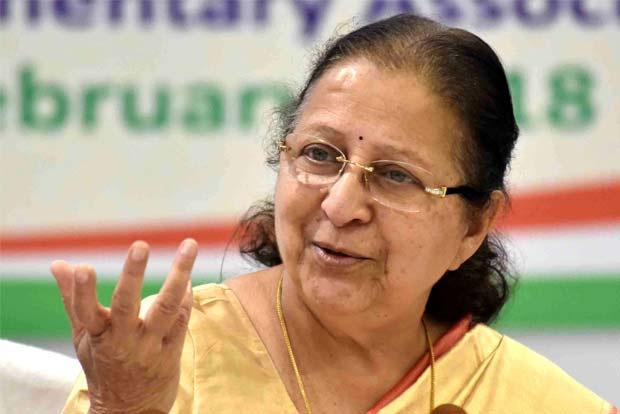 What media portrays about women safety  isn't always true: Sumitra Mahajan