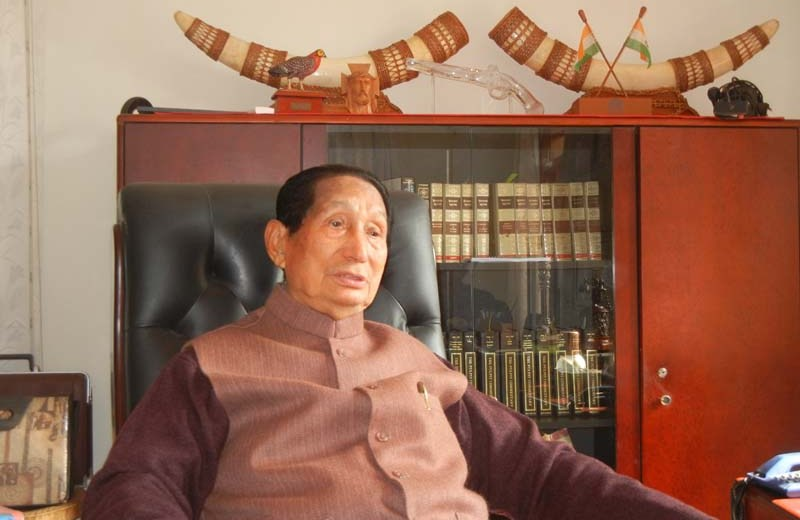 Right time now to resolve Indo-Naga  political problem: SC Jamir