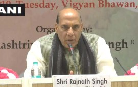 Support freedom of religion but need  debate on mass conversion: Rajnath
