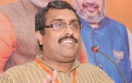 Time to resume political  engagement in J&K: Ram Madhav