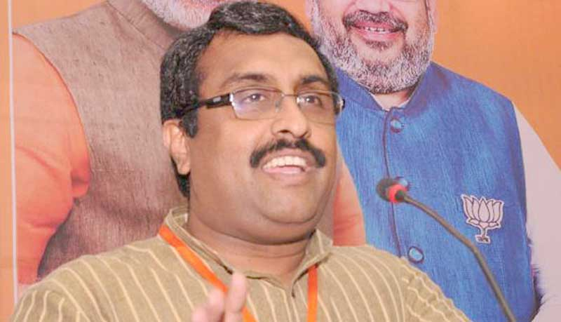 CAB: NE allies angry, Ram Madhav  talks of 'middle ground'
