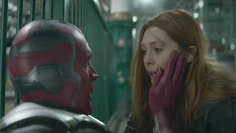 Vision and Scarlet Witch are getting their own Disney+ show