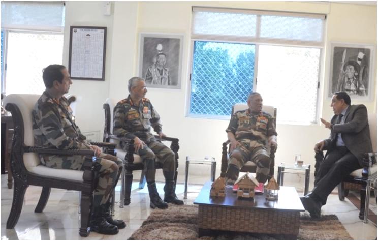Gen Rawat reviews security  scenario in Nagaland