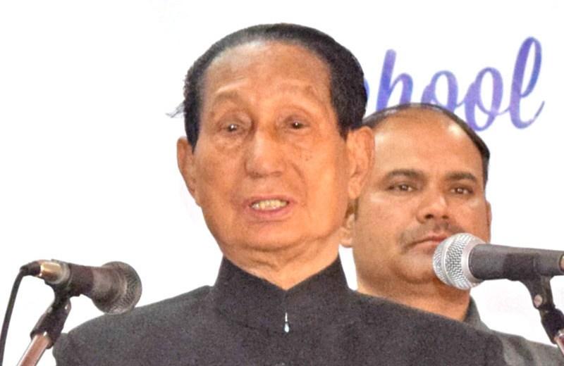 Famine of truth in Naga  society: SC Jamir