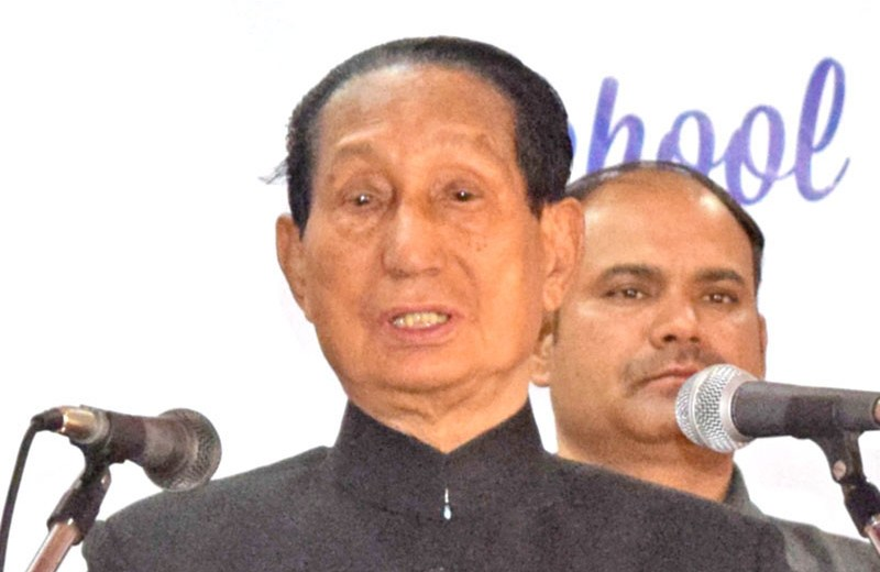 Gun culture suppressing & oppressing Nagaland: Jamir
