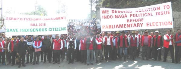 Nagas come out against CAB; reignites 'Solution before Election' call