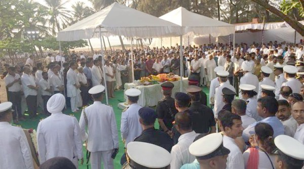Manohar Parrikar cremated with full state honours