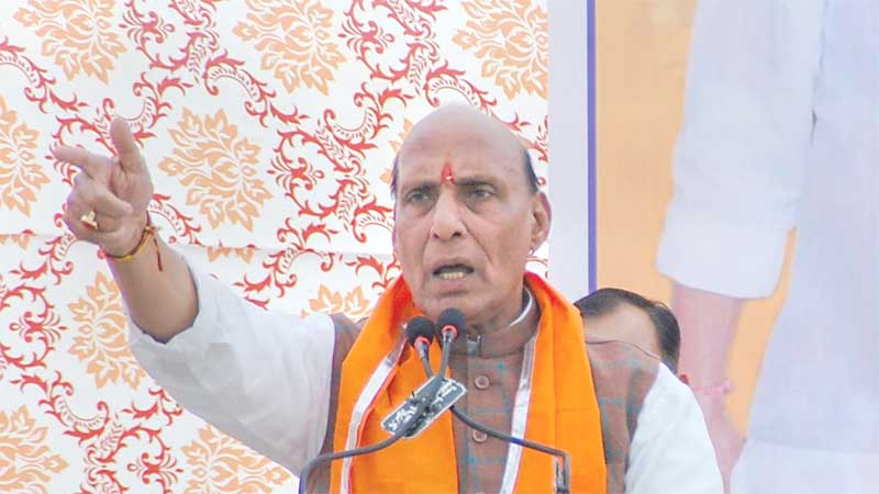 Articles 370, 35A should be reviewed, scrapped: Rajnath