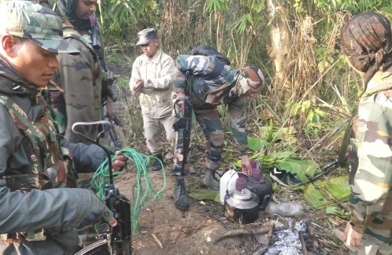 AR destroys NSCN (IM)  temporary camps