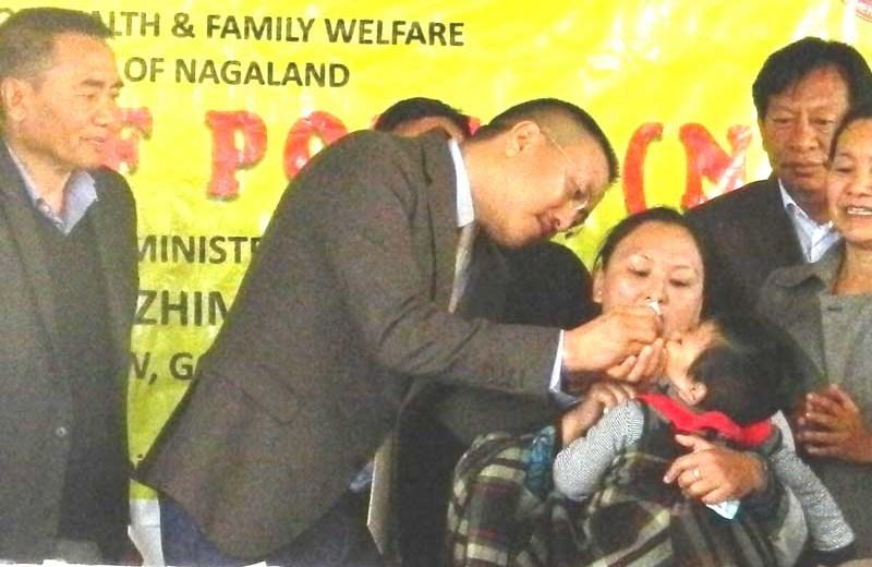 Himato launches Polio  immunization campaign