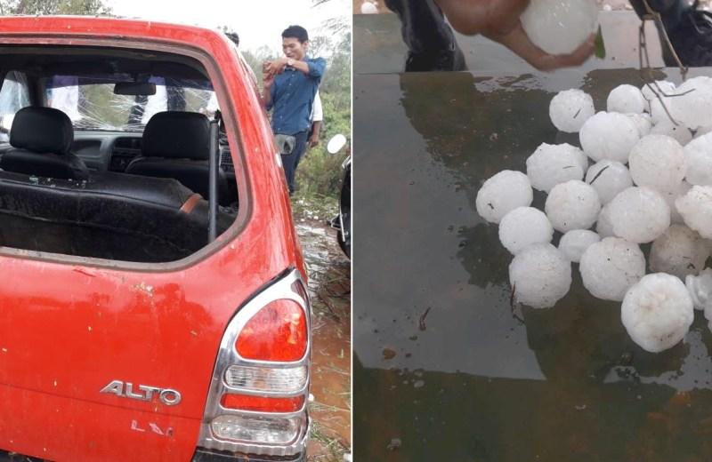 Hailstorm lashes Nagaland