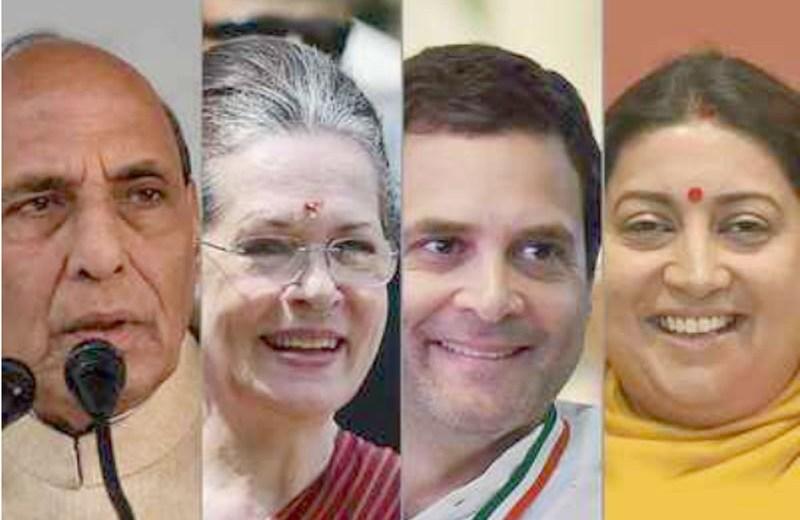 51 Lok Sabha seats go to polls in 5th phase today; Rajnath, Sonia, Rahul, Smriti in fray