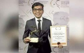 Assam boy's documentary bags 'Best Film' in Hungary
