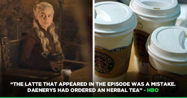 HBO's a hilarious response to Game of Thrones coffee cup blunder